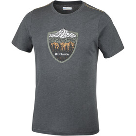 Columbia Hillvalley Forest Short Sleeve Tee Men Shark